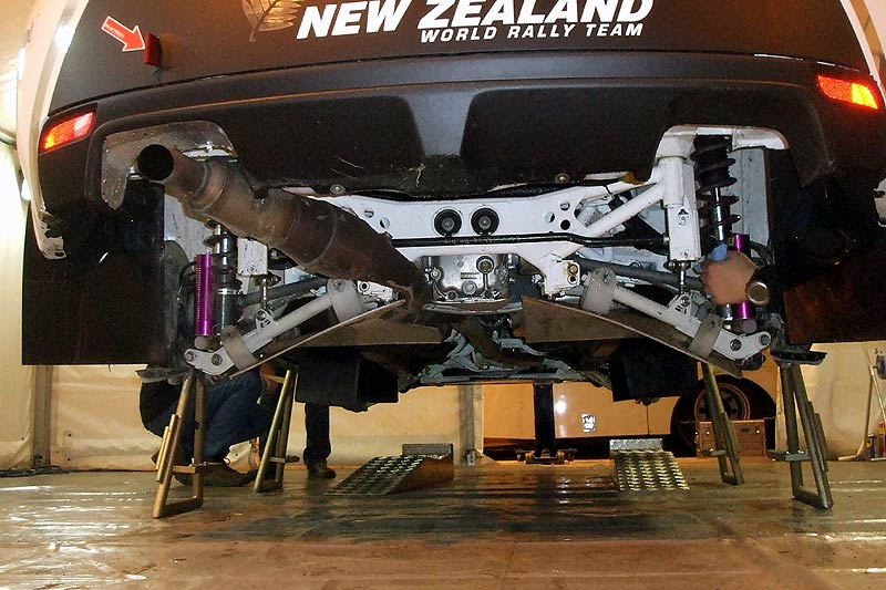 "Subaru Rally Car >> Photo ""Hayden Paddon's R4 Impreza Hatch rear suspension"" in the album ""WRC details"" by ASJ ..."