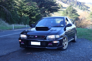 SUBARU IMPREZA WRX TYPE R STI VERSION VI