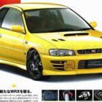 MY97 Impreza Type R STi Version