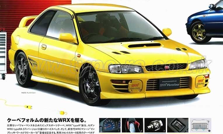 My97 Subaru Impreza Wrx Type R Sti Version Specs