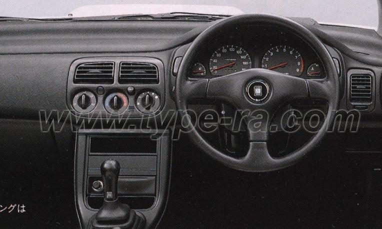 Subaru Impreza My97 Wrx Type Ra