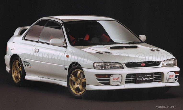 MY98 Impreza Type R STi Version 4
