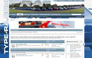 Type RA Impreza Forum Updates