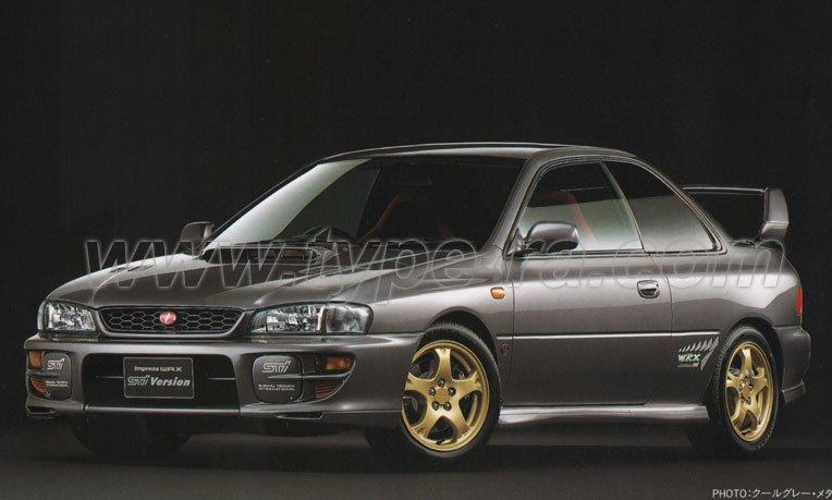 MY99 Impreza WRX Type R STi V5