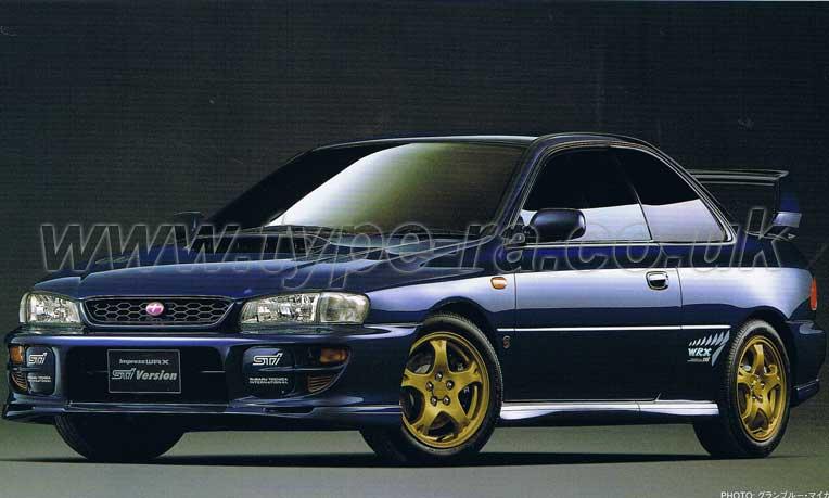 MY99 Impreza WRX Type R STi V6