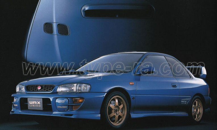 Subaru Impreza Wrx Type R Sti Version 6 Limited