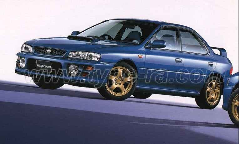 Impreza Type RA Limited MY99