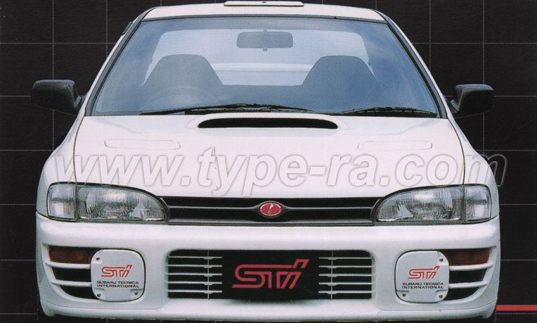 Impreza Type RA STi Version