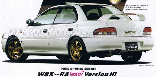 1997 STi Type RA
