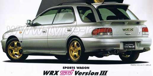 97 STi V3 Wagon