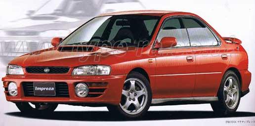 1998 WRX Saloon