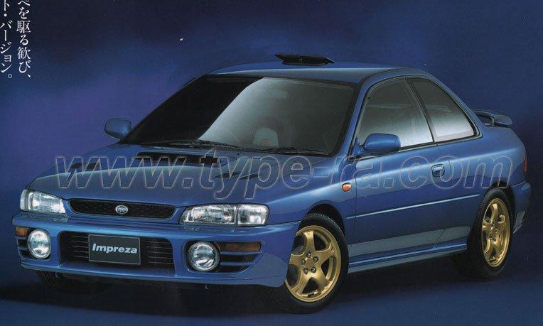 Impreza WRX Type R V-Limited