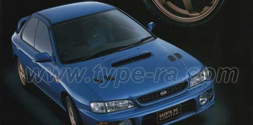 MY 00 WRX RA Limited