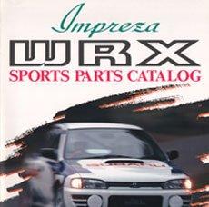 Impreza WRX Sports Parts Brochure