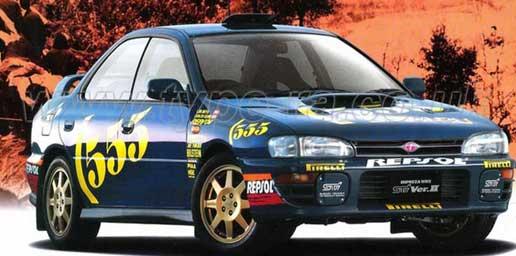 WRX STi 555