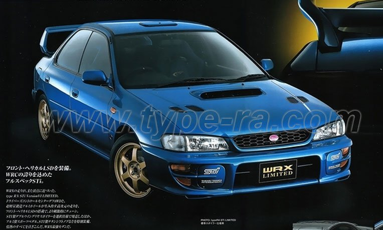 V6 STi Type RA Limited