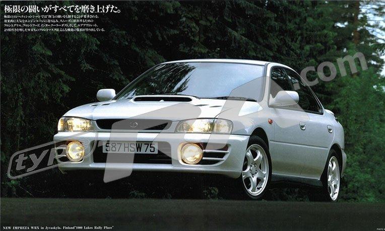 MY97 Impreza WRX Sedan