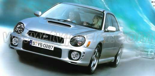2002 Impreza WRX