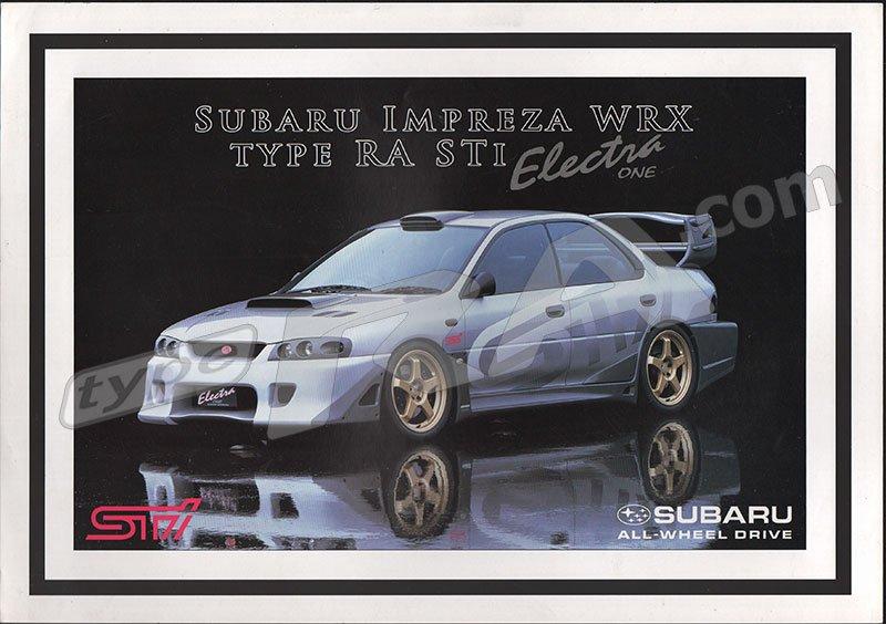 Subaru Electra One Concept Car
