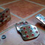 STi Pedal Set Stainless Steel