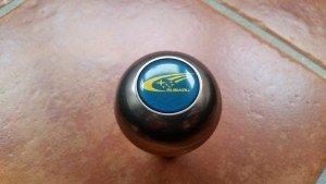 STi Titanium gear knob