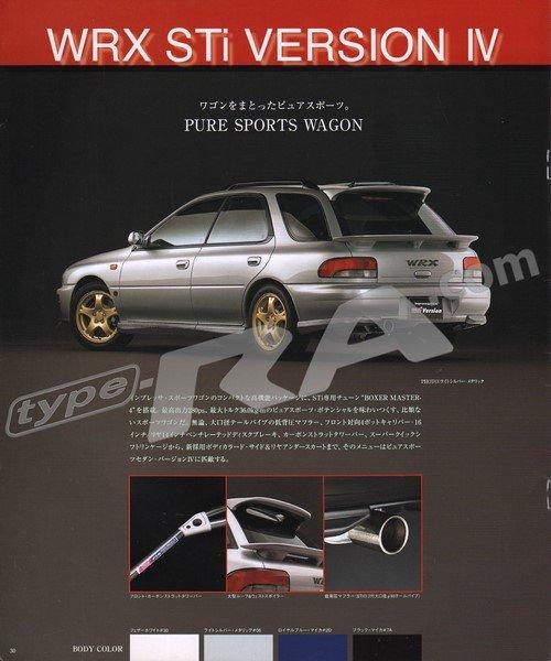 MY98 WRX & STi Brochure - Subaru Impreza Forum