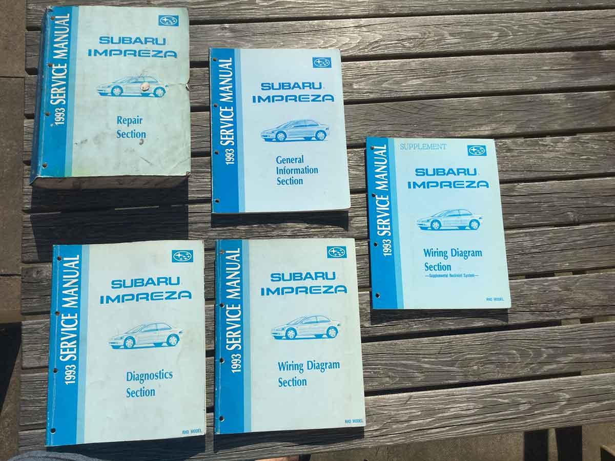 impreza manual 1993