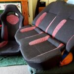 WRX Red Tiger Seats