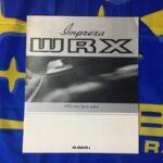 MY93 WRX & WRX RA Brochure