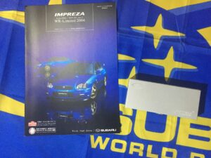 WRX And Spec C WR Limited Brochure And Torch
