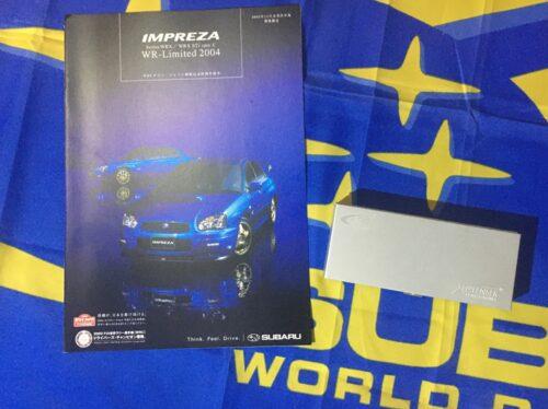 WRX WR Limited brochure