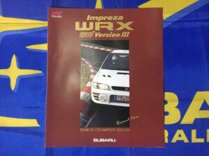 MY97 WRX STi Version 3 Brochure