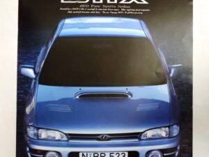 MY95 Impreza WRX Brochure