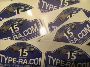Type-RA.com 2020 Decals