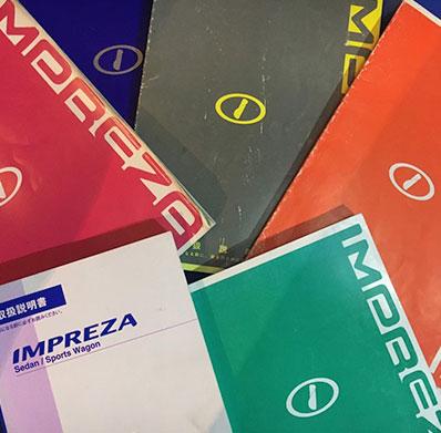 Impreza Handbooks