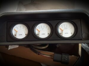 White Faced Lamco Gauge Set