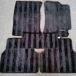 Genuine Impreza Floor Mats Set With Stripes
