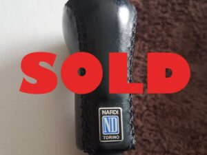 Genuine GC8 Nardi Gear Knob