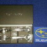 Subaru Dessert Coffee Cutlery – Rare
