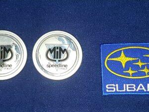 Genuine Mim Speedline Centre Caps