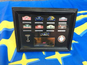 1997 Subaru WRC Pin Badge Collection