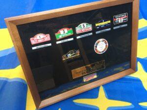 1995 Subaru WRC Pin Badge Collection