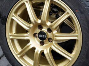 17″ Spec C BBS Lightweight Wheels, Wrapped In Minimal Wear Nankang NS2R Semi Slicks TW120 225/45/17